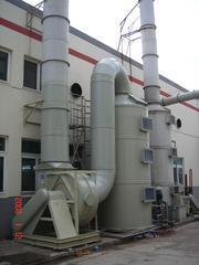 安居乐PP-R,PVC,PE,PU塑料管生产车间废气净化