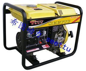 上海2KW柴油发电机/电启动小型柴油发电机/希图动力