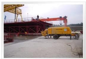 河北省石家庄市液压技术先进的煤矿防爆混凝土泵 底盘的性能高