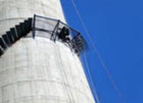 邯郸烟囱安装平台-烟囱安装转梯
