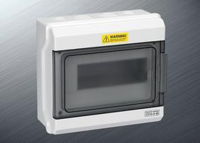 PZ30塑料防水配电箱9回路强电箱1509
