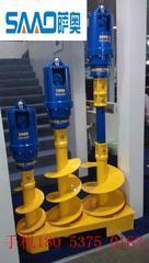 液压螺旋钻 挖机螺旋钻 长螺旋钻 螺旋钻杆 螺旋钻厂家