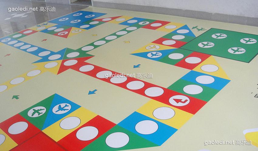 唐山儿童游乐园室内儿童淘气堡地垫怎么铺设比较好看