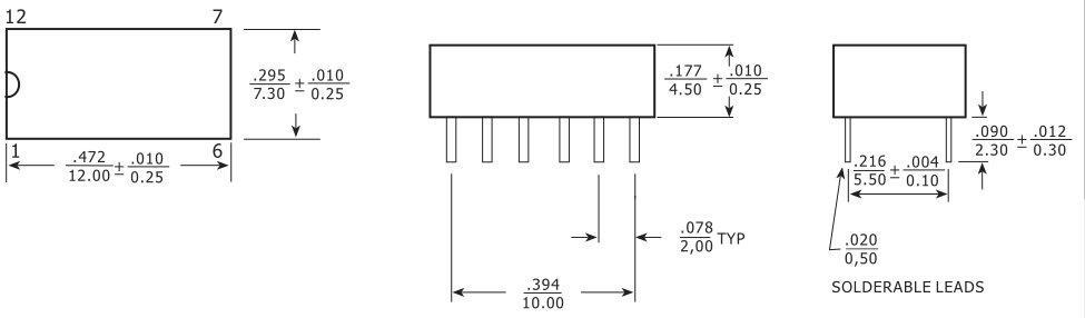 12pin直插rj45网络变压器 rj45连接器上