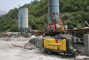 呼和浩特托县井下空间狭窄用什么型号的煤矿用混凝土输送泵