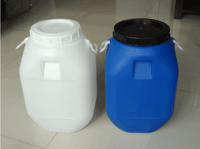 50升开口方形塑料桶
