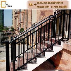 锌钢楼梯扶手别墅小区家庭室外楼梯护栏