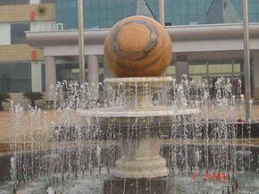 上海雕塑水景石雕风水求圆雕雕塑