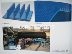 多重增强钢塑复合压力管西安昆达管业优质供应315-2200