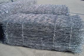 锌铝合金PVC覆塑固滨笼