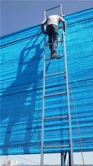 高密度阻燃防尘网  聚酯纤维防风网