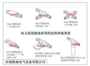 铜绞线放热焊接模具焊药