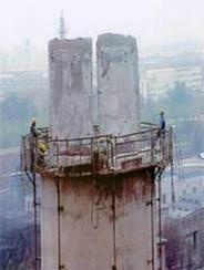 天津烟囱拆除公司-烟囱拆除有以下几种方法