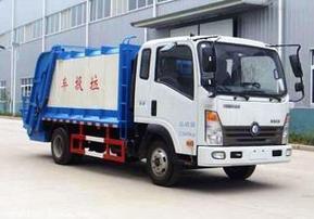 重汽4立方压缩式垃圾车