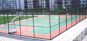 天津塑胶篮球场施工