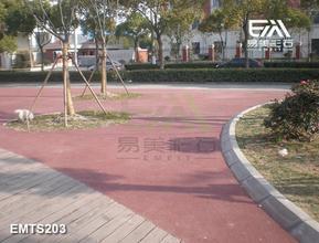 彩色混凝土,透水混凝土,生态透水地坪