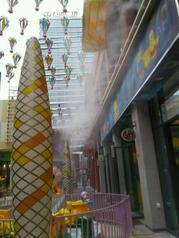 东莞喷雾降温-户外餐厅园林公园喷雾降温