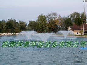 供应生态景观水处理喷泉式曝气机