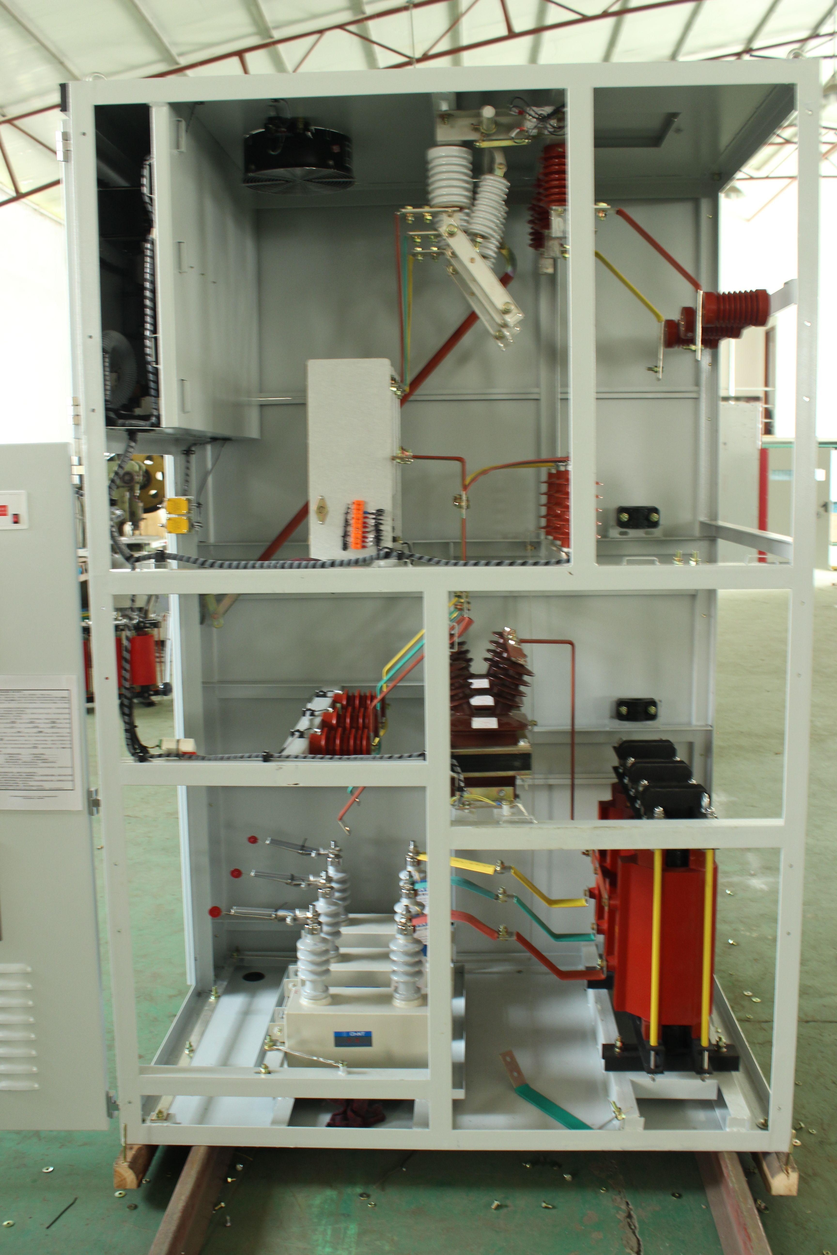 电工电气 电气设备 35kv高压配电装置 成套配电装置 动态无功补偿柜