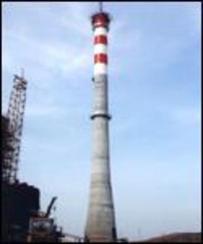 120米水泥烟囱滑模