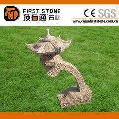 锈色花岗岩荔枝面日式灯笼GGL367B