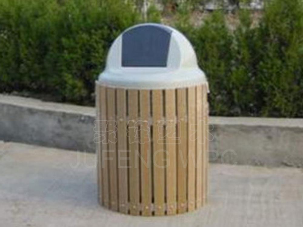 塑木(木塑)垃圾桶(2006-9-16); 供应塑木园林小品/垃圾桶,垃圾箱