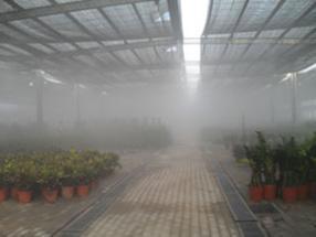 园森大棚喷雾降温、加湿、防疫,施肥设备