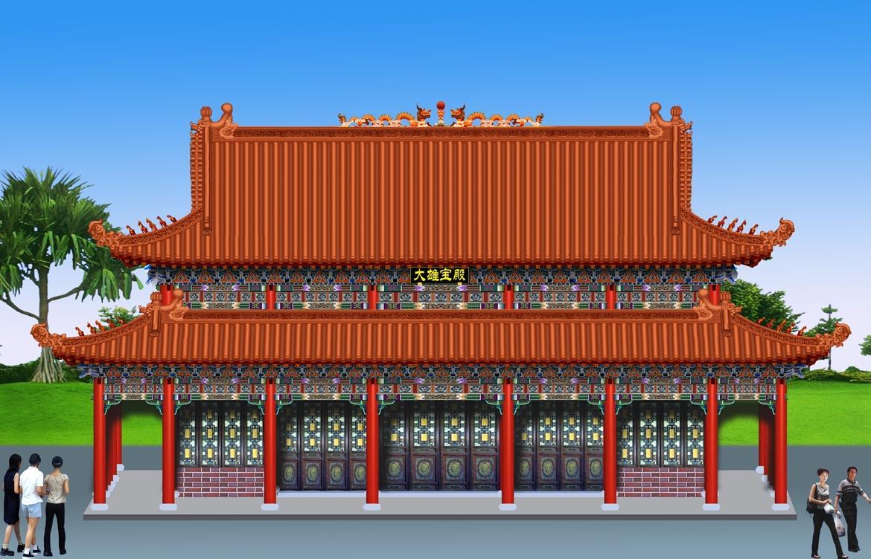 寺庙设计图,寺院规划图,寺庙建筑设计图