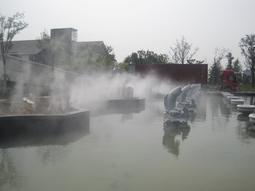 山东喷雾、造雾、人造雾