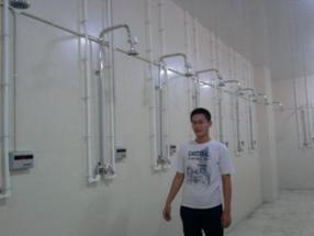 芜湖浴室水控机澡堂打卡机苏州新蓝牌价低物美