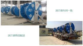绞盘式喷灌机JP75-300TX 小麦节水灌溉农机