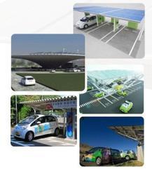新能源电动汽车充电站
