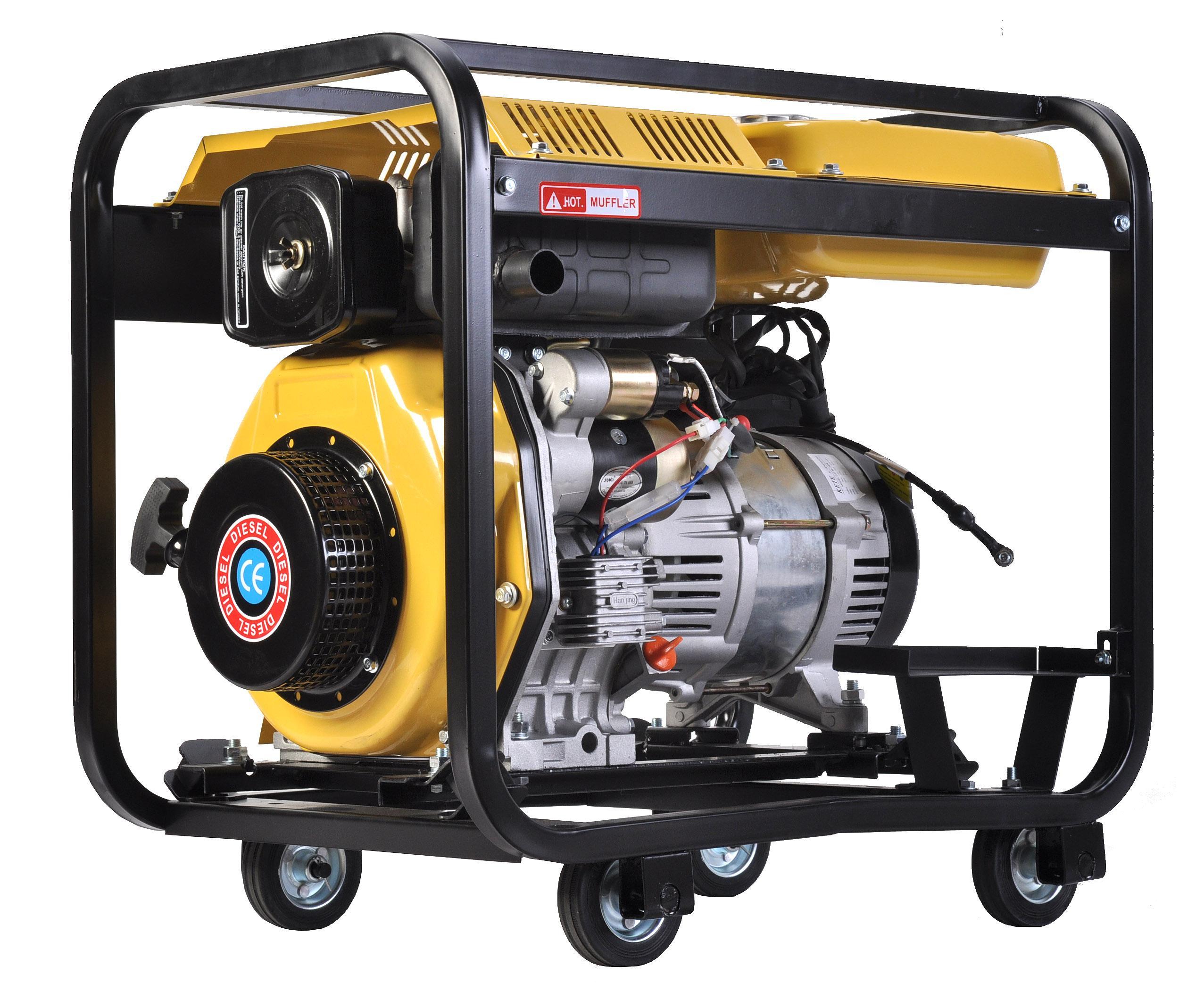 3kw电启动小型柴油发电机