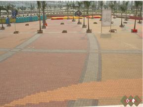 供应 彩砖效果图 广场彩砖广场彩砖价格人行道彩砖