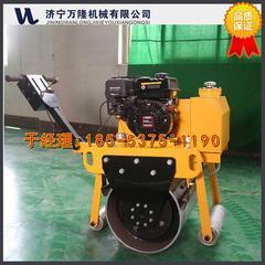 手扶小型单轮振动压路机  单钢轮震动压路机 河南厂家价格
