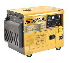 5KW单三相静音柴油发电机