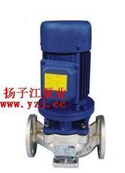 管道泵:IHGB型立式不锈钢防爆管道离心泵