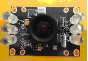 高清彩色CMOS 55*38 700线