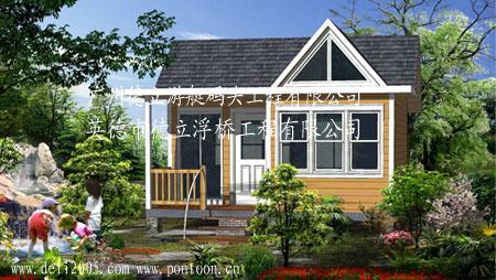 户外木屋,木质结构房屋