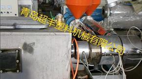 HDPE硅芯管生产线挤出机生产线