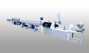 最新配方PVC穿线管生产设备/PVC双管机械