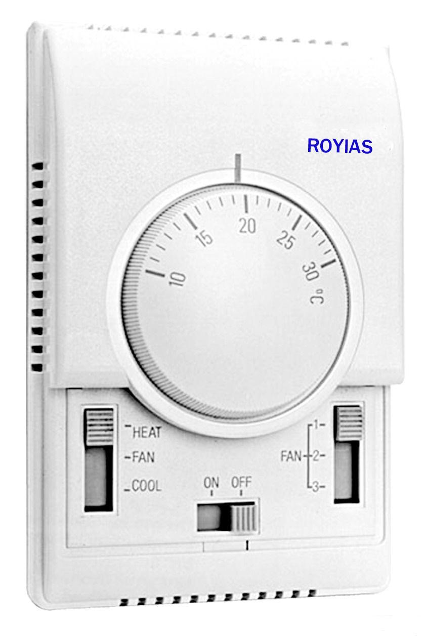 `t5636风机盘管温控面板,机械式控制器