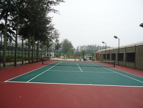 室外网球场地面做法