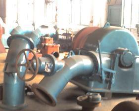 斜击式水轮机成套机组