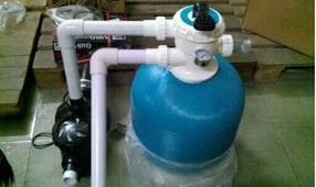 游泳池水处理设备/沙缸过滤设备/水处理设备