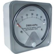 D900盒装气体微差压表