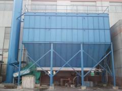 20吨锅炉脉冲袋式除尘器外饰及保温工作介绍