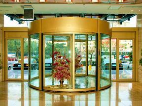 西安弧形旋转门定做西安旋转门安装维修