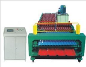 840/860双层彩钢压瓦机