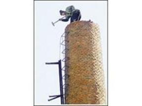 拆除锅炉房烟囱